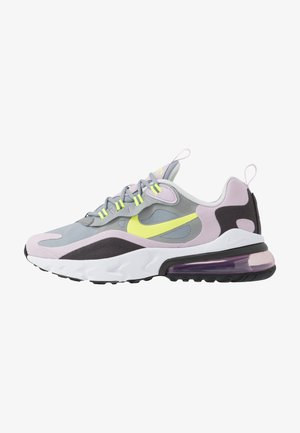 AIR MAX 270 REACT  - Sneakers basse - particle grey/lemon/iced lilac/off noir