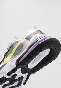 Nike Sportswear - AIR MAX 270 REACT  - Baskets basses - particle grey/lemon/iced lilac/off noir - 2