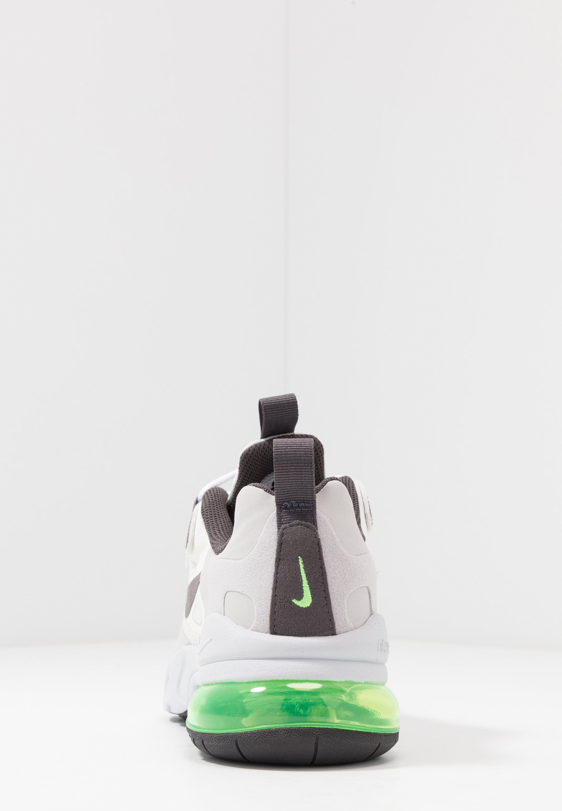 Nike Sportswear AIR MAX 270 REACT - Trainers - summit white/silver lilac/electric green/vast grey