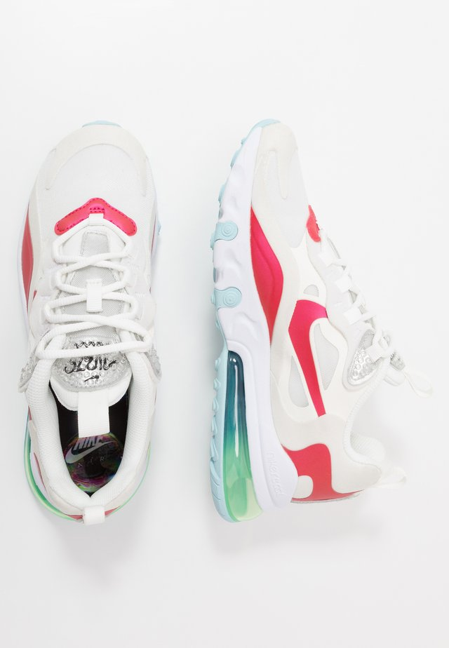 AIR MAX 270 REACT BG - Sneakers laag - summit white/multicolor/platinum tint/white