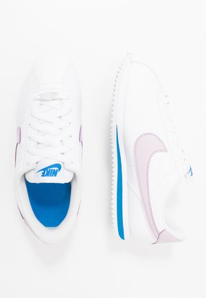 CORTEZ BASIC - Sneakers laag - white/iced lilac/soar/metallic silver