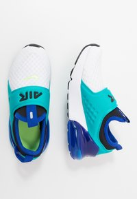 Nike Sportswear - AIR MAX 270 EXTREME - Slip-ons - white/ghost green/oracle aqua/hyper blue - 0