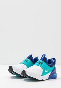 Nike Sportswear - AIR MAX 270 EXTREME - Slip-ons - white/ghost green/oracle aqua/hyper blue - 3