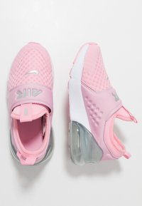 Nike Sportswear - AIR MAX 270 EXTREME - Slip-ons - pink/metallic silver/white - 0