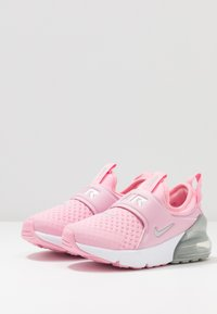 Nike Sportswear - AIR MAX 270 EXTREME - Slip-ons - pink/metallic silver/white - 3