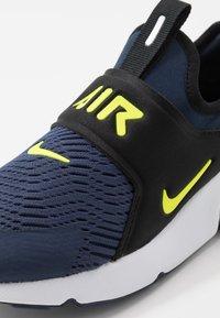 Nike Sportswear - AIR MAX 270 EXTREME - Slip-ons - midnight navy/lemon/black/anthracite - 2