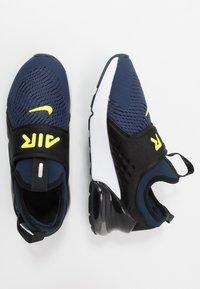 Nike Sportswear - AIR MAX 270 EXTREME - Slip-ons - midnight navy/lemon/black/anthracite - 0