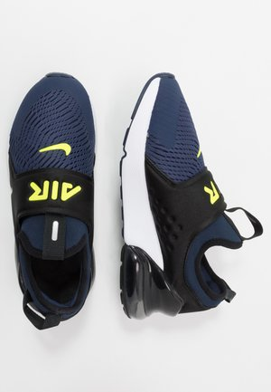 AIR MAX 270 EXTREME - Mocasines - midnight navy/lemon/black/anthracite
