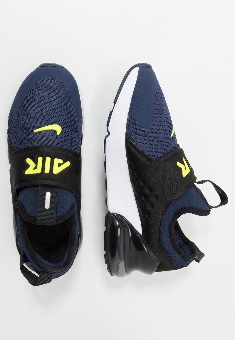 Nike Sportswear - AIR MAX 270 EXTREME - Slip-ons - midnight navy/lemon/black/anthracite