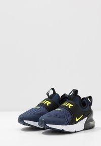 Nike Sportswear - AIR MAX 270 EXTREME - Slip-ons - midnight navy/lemon/black/anthracite - 3