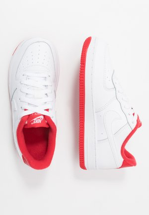 FORCE  - Sneakers laag - white/team red