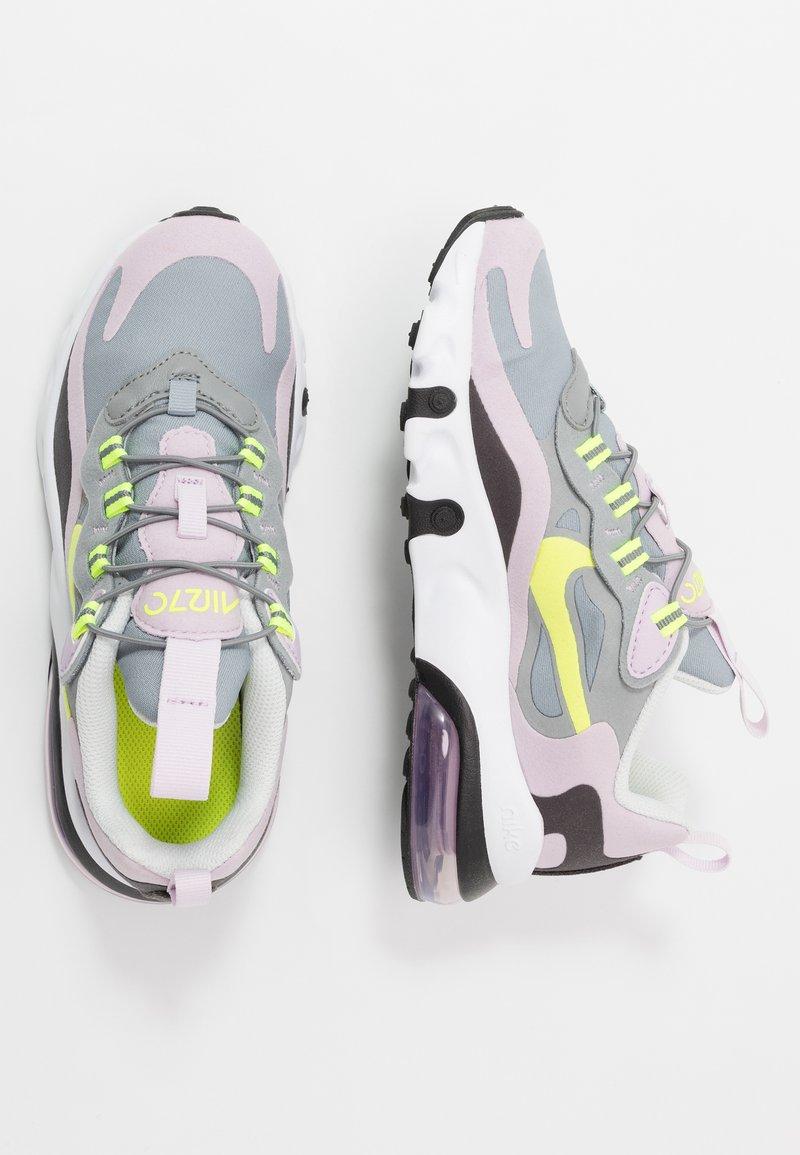 Nike Sportswear - AIR MAX 270 - Mocasines - particle grey/lemon/iced lilac/off noir