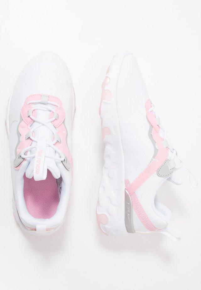 RENEW 55  - Zapatillas - white/pure platinum/pink/light smoke grey