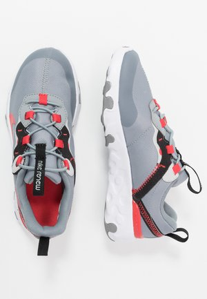 RENEW 55  - Sneaker low - particle grey/track red/grey fog/black