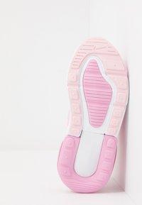 Nike Sportswear - AIR MAX 270 - Sneakersy niskie - pink foam/white/pink rise - 5