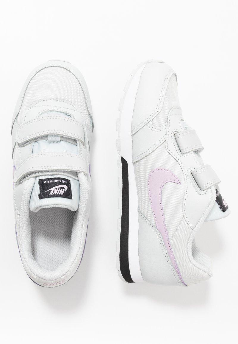 Nike Sportswear - COURT BOROUGH - Zapatillas - pure platinum/atomic pink/valerian blue/white