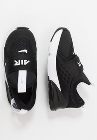 Nike Sportswear - AIR MAX 270 EXTREME  - Nazouvací boty - black/white - 0