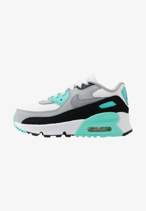 AIR MAX 90 - Zapatillas - white/particle grey/light smoke grey/hyper turquoise/black