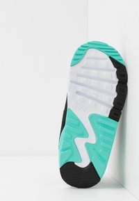 Nike Sportswear - AIR MAX 90 - Sneakers laag - white/particle grey/light smoke grey/hyper turquoise/black - 5