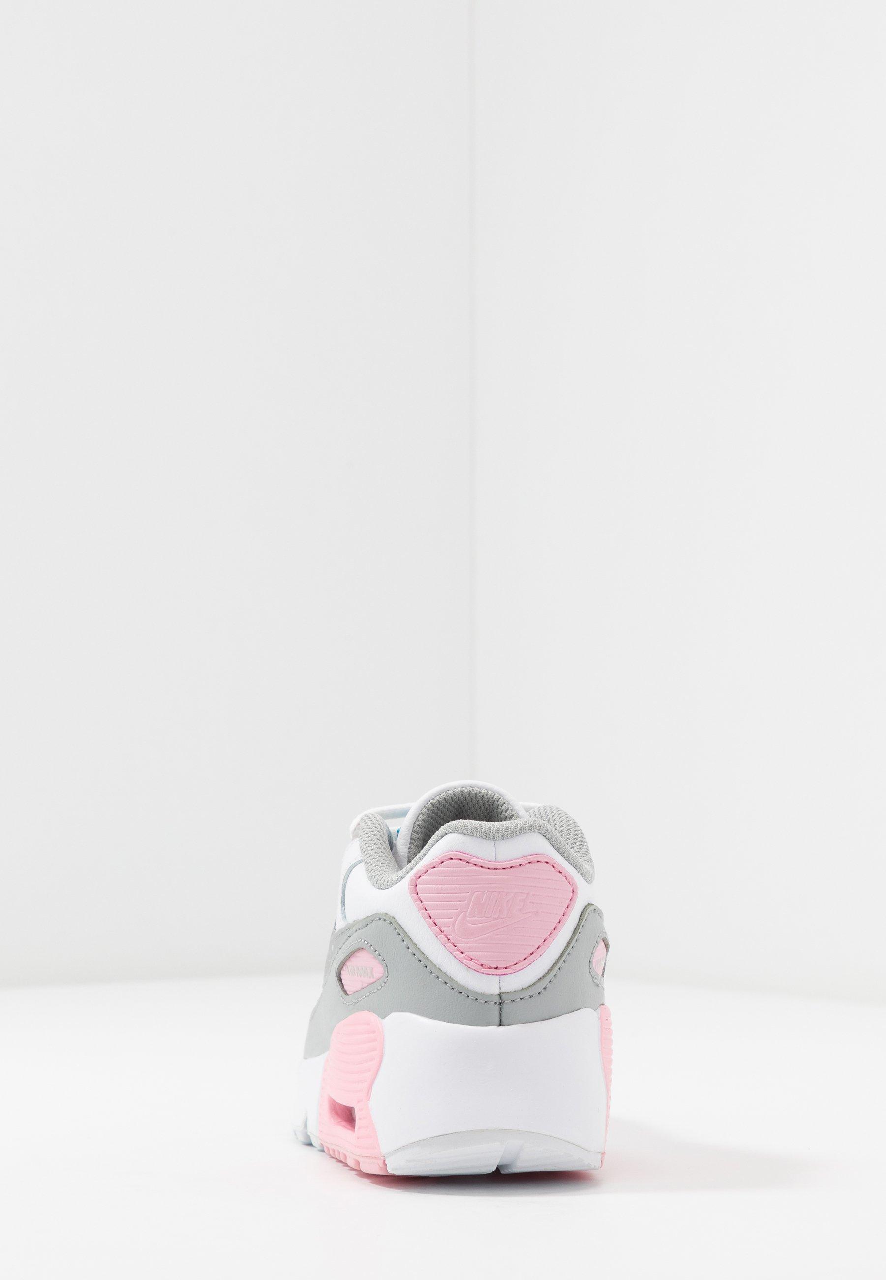 Air Max 90 Sneakers laag light smoke greywhitepinkmetallic silver