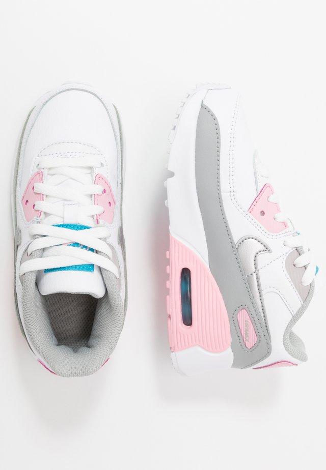 Air Max 90  - Sneakers laag - light smoke grey/white/pink/metallic silver