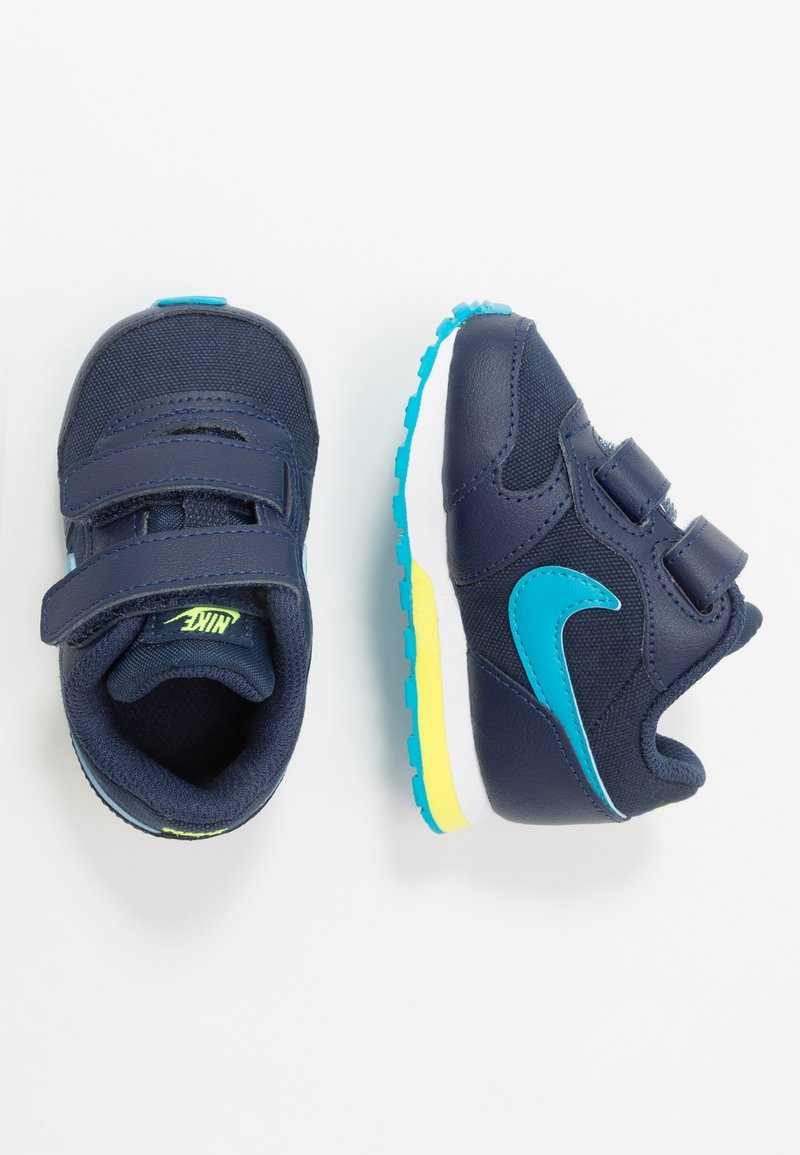 Nike Sportswear - RUNNER 2 - Sneakers laag - midnight navy/laser blue/lemon/white
