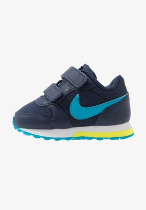 RUNNER 2 - Matalavartiset tennarit - midnight navy/laser blue/lemon/white