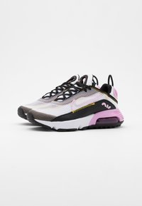 Nike Sportswear - AIR MAX 2090 - Sneakersy niskie - white/light arctic pink/black/dark sulfur - 1