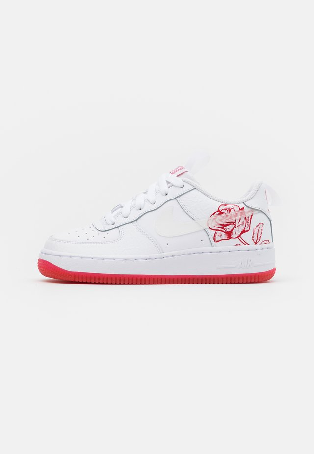 AIR FORCE  - Baskets basses - white/university red