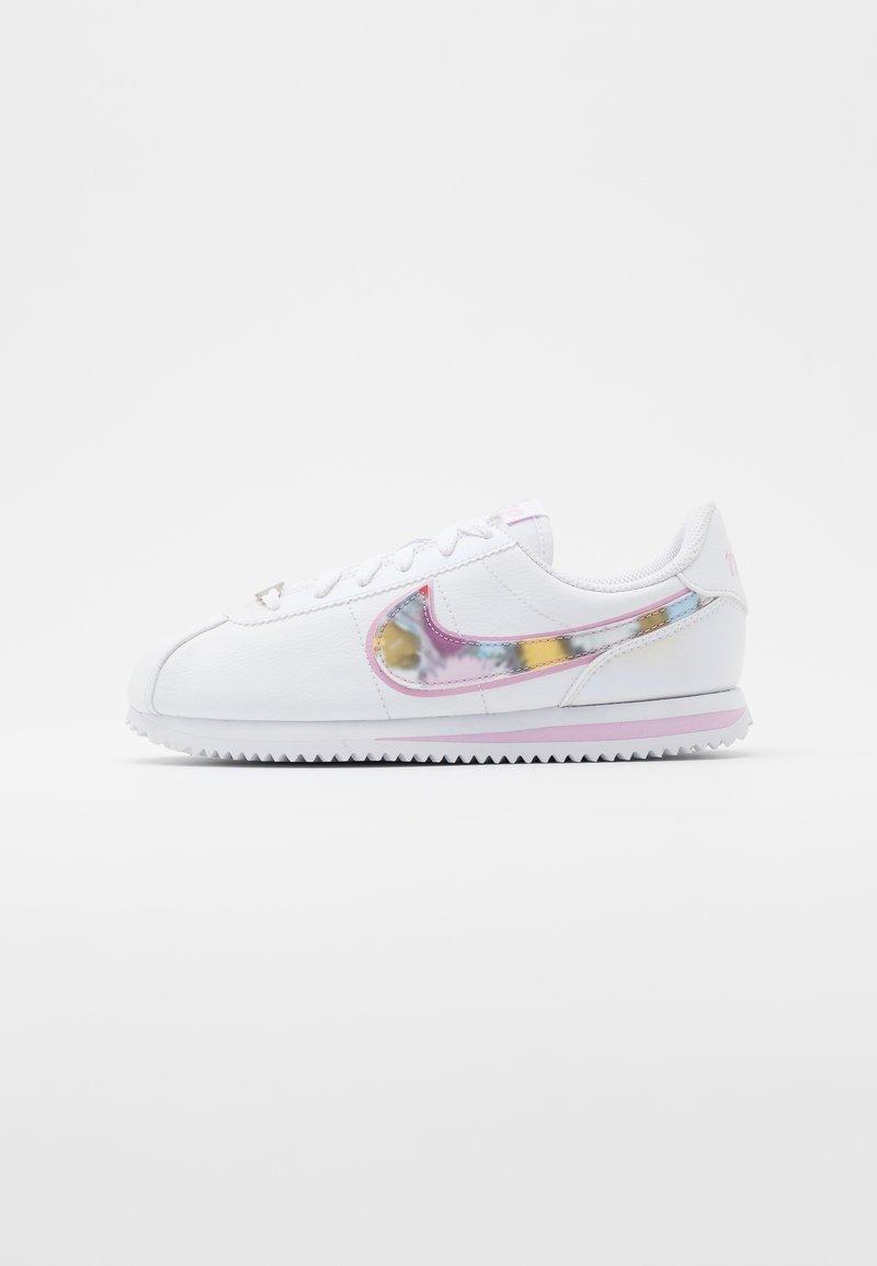 Nike Sportswear - CORTEZ BASIC  - Zapatillas - white/light arctic pink/metallic silver