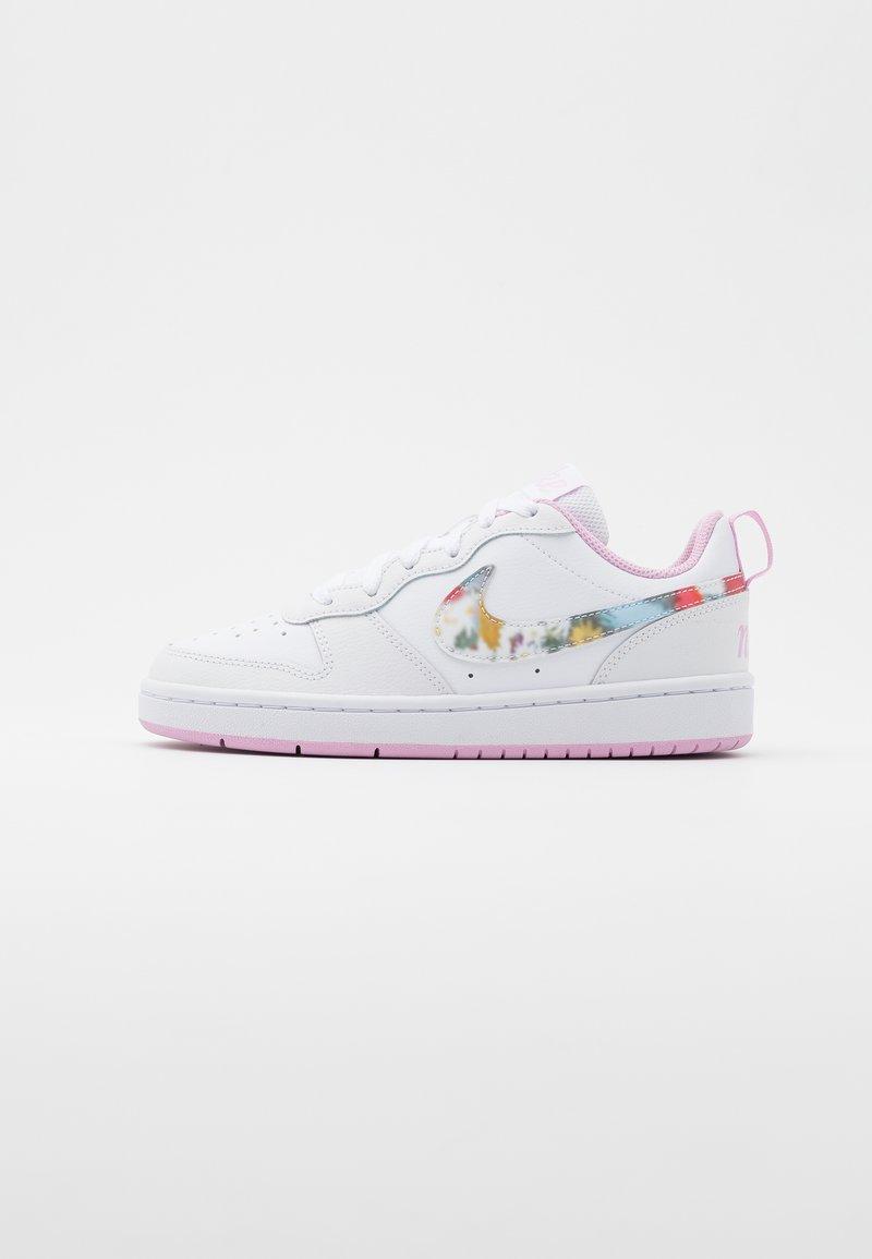 Nike Sportswear - COURT BOROUGH  - Sneakers basse - white/multicolor/light arctic pink