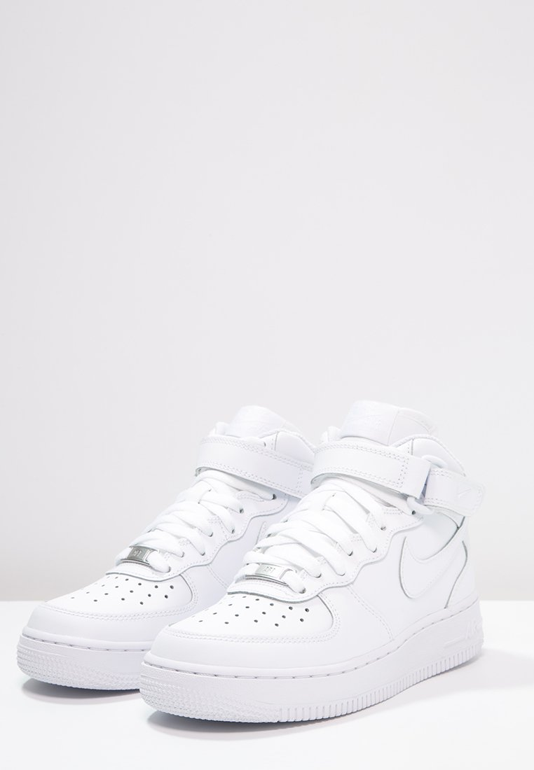 Nike Sportswear AIR FORCE 1 BG Sneakers hoog blackwhite