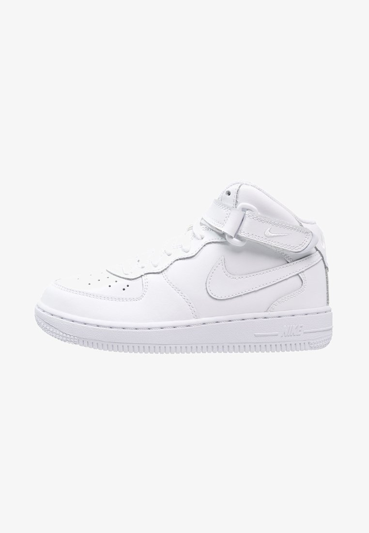 Nike Sportswear - AIR FORCE 1 MID - Vysoké tenisky - white