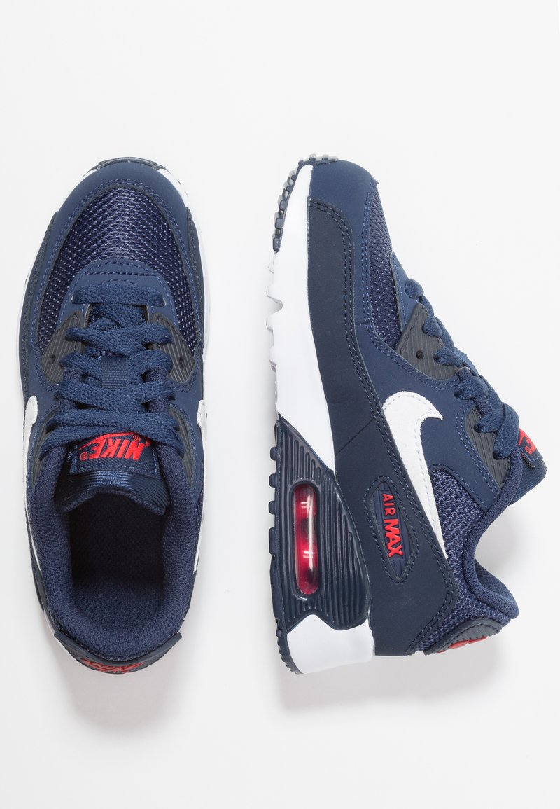 Nike Sportswear - AIR MAX 90 - Baskets basses - midnight navy/white/university red/obsidian