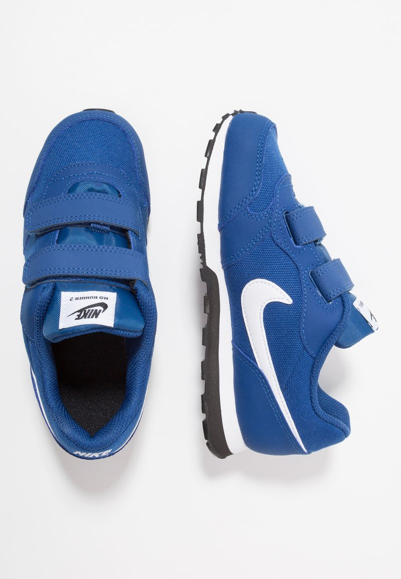 Nike Sportswear - MD RUNNER 2 - Sneaker low - gym blue/white/black