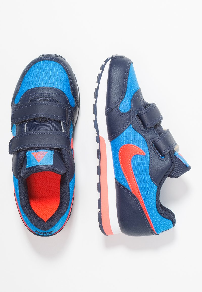 Nike Sportswear - MD RUNNER 2 BPV - Trainers - photo blue/bright crimson/obsidian/white
