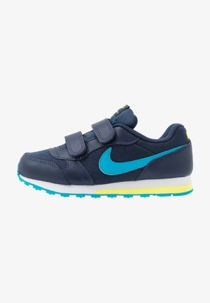 MD RUNNER 2 BPV - Matalavartiset tennarit - midnight navy/laser blue/lemon/white