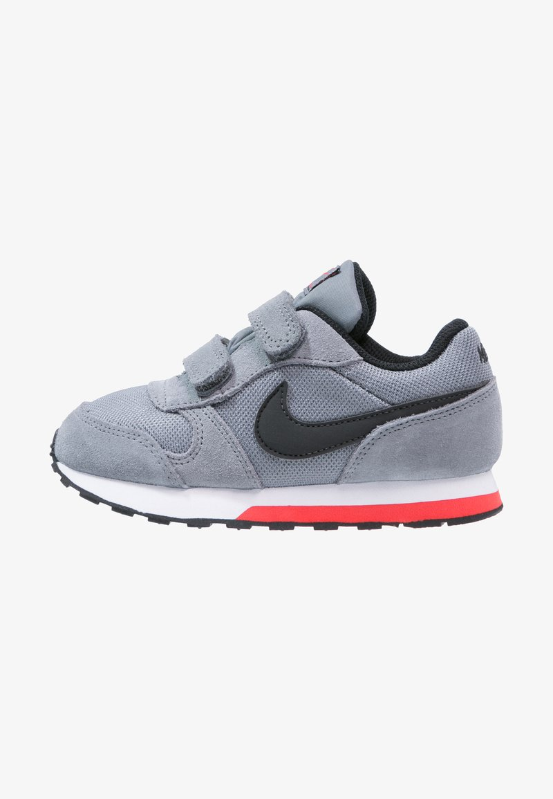 Nike Sportswear - MD RUNNER  - Zapatillas - cool grey/black/max orange/white
