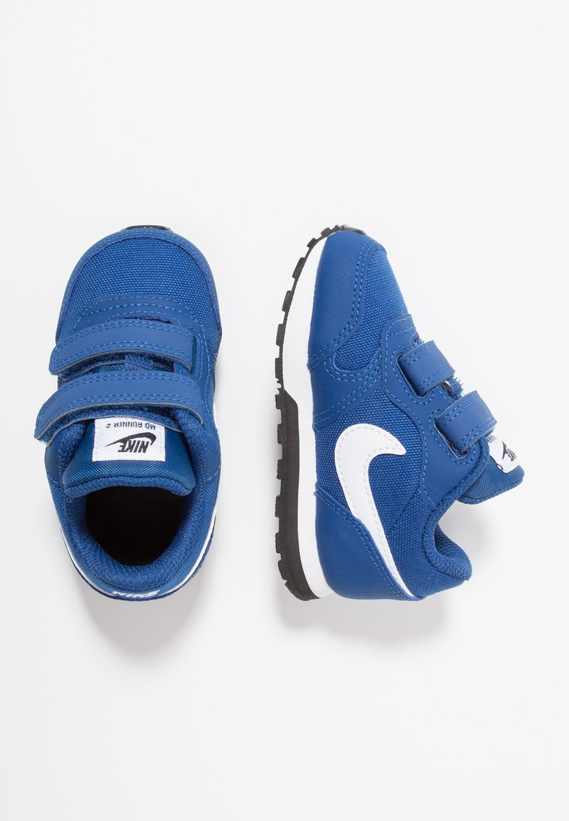 Nike Sportswear - MD RUNNER 2  - Baby shoes - gym blue/white/black