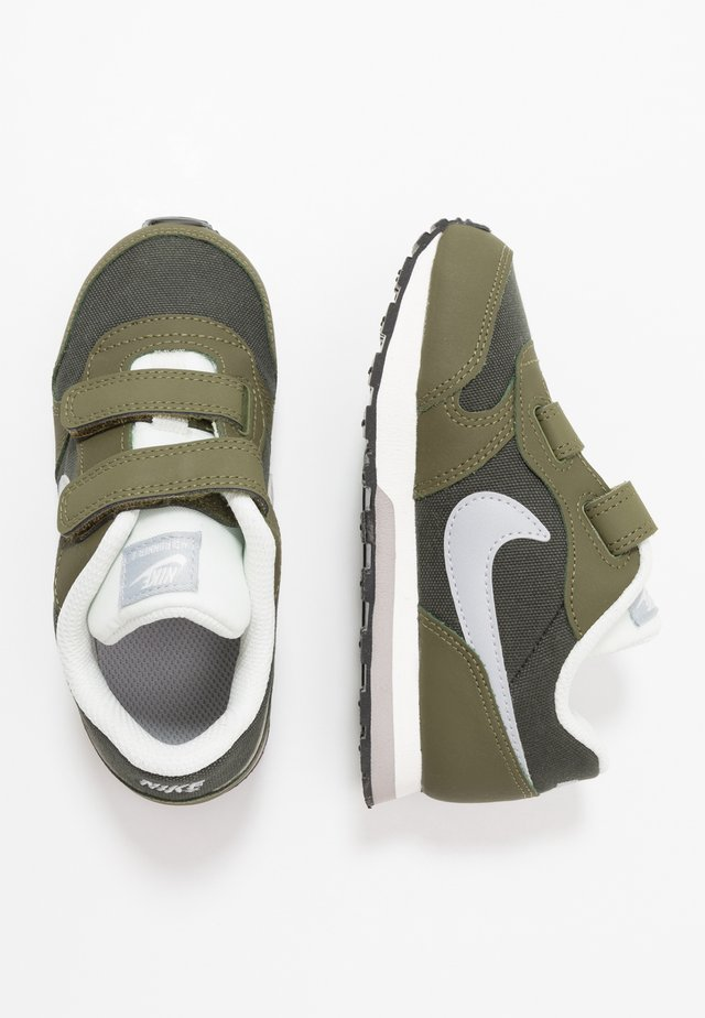 MD RUNNER  - Sneakers laag - sequoia/wolf grey/olive/sail