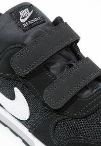 Nike Sportswear - MD RUNNER  - Trainers - black/white/wolf grey - 5