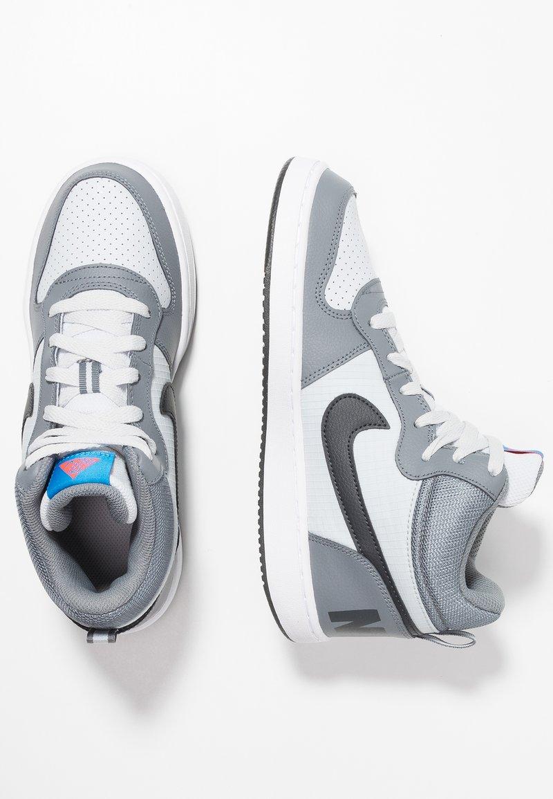 Nike Sportswear - COURT BOROUGH MID - Sneaker high - cool grey/anthracite/pure platinum/photo blue