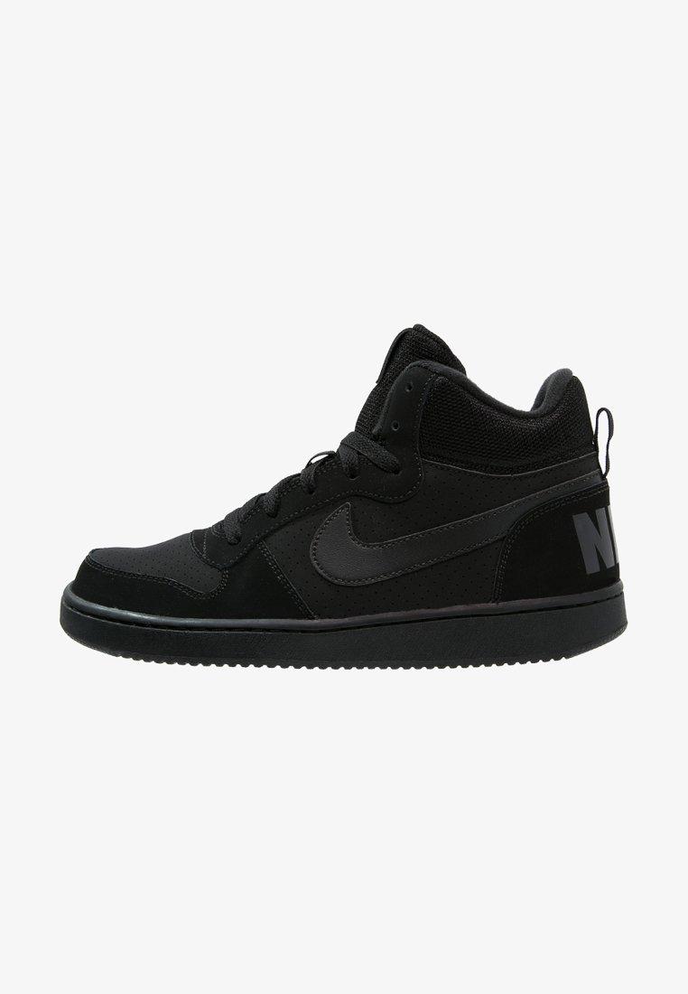 Nike Sportswear - COURT BOROUGH MID - Sneakersy wysokie - black