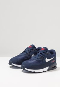 Nike Sportswear - AIR MAX 90 - Sneakers - midnight navy/white/universal red/obsidian - 3