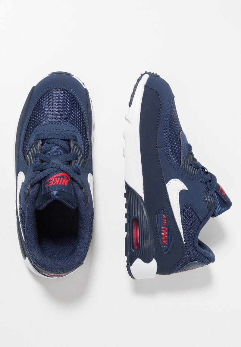 Nike Sportswear - AIR MAX 90 - Tenisky - midnight navy/white/universal red/obsidian