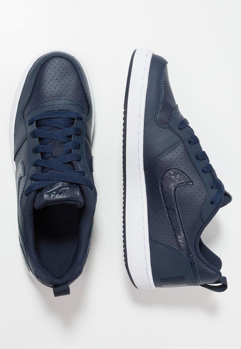 Nike Sportswear - COURT BOROUGH  - Joggesko - obsidian/white