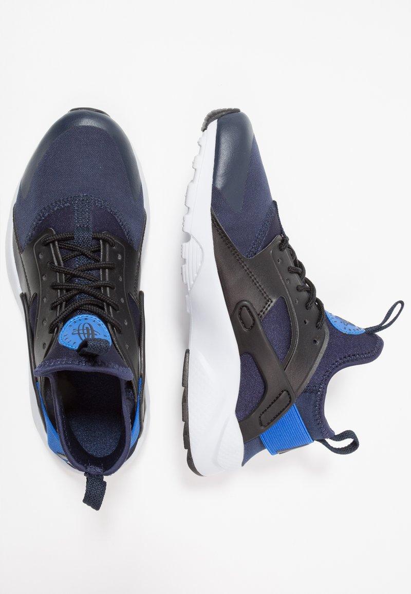 Nike Sportswear - AIR HUARACHE RUN ULTRA - Sneakersy niskie - obsidian/signal blue/black
