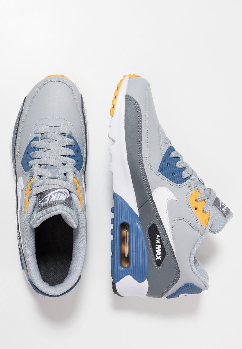 Nike Sportswear - AIR MAX 90  - Baskets basses - wolf grey/white/indigo storm/university gold