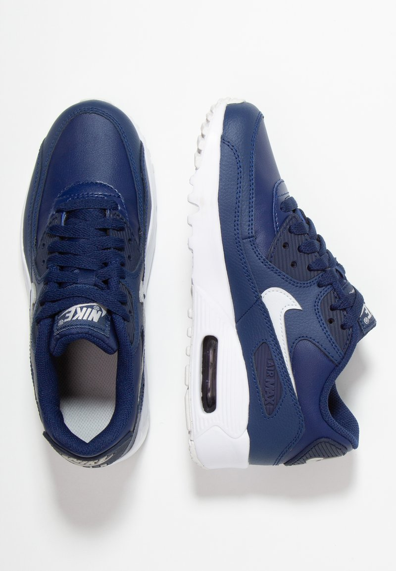 Nike Sportswear - AIR MAX 90  - Sneaker low - blue void/pure platinum/white