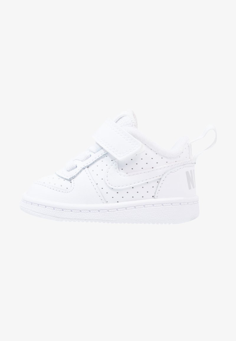 Nike Sportswear - COURT BOROUGH  - Obuwie do nauki chodzenia - white
